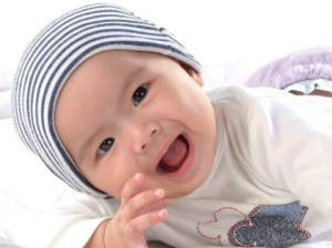cute asian baby boy